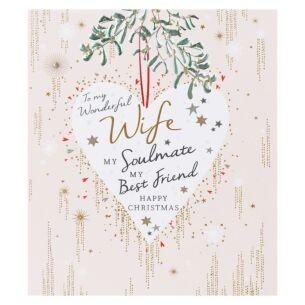 Amaretto Wife Christmas Card