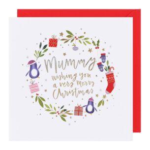 Cloud Nine Mummy Christmas Card