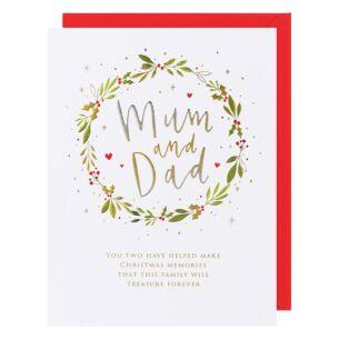 Cloud Nine Mum and Dad Christmas Card