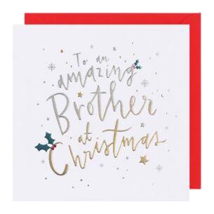 Cloud Nine Brother Christmas Card