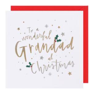Cloud Nine Grandad Christmas Card
