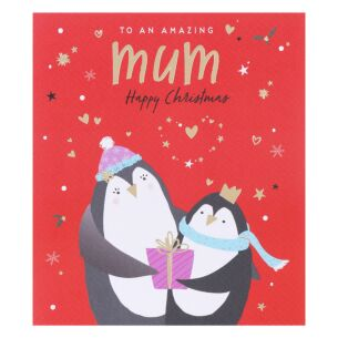 Nutmeg Mum Christmas Card
