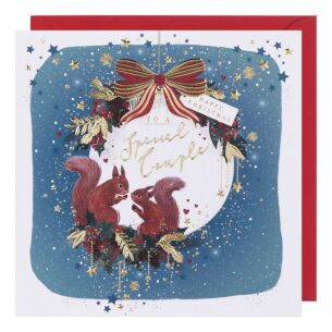 Starry Night Special Couple Christmas Card