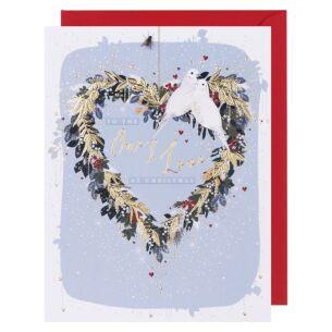 Starry Night One I Love Christmas Card