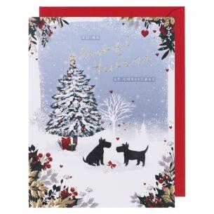 Starry Night Husband Christmas Card