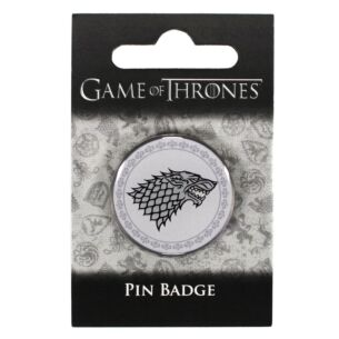 Game of Thrones House Stark Pin Badge
