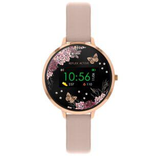 Series 3 Pink PU Leather Smart Watch