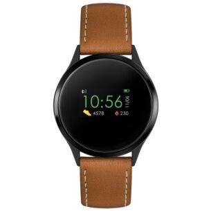 Series 4 Tan PU Leather Smart Watch