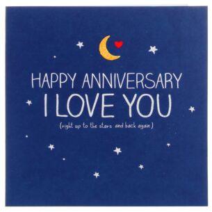 Anniversary Stars & Back Card