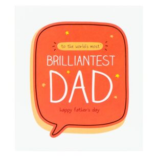 Brilliantest Dad Father's Day Card