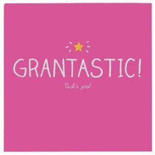 Grantastic! Card