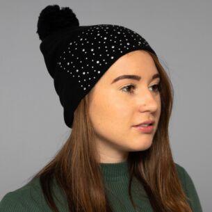 Black Diamond Bobble Hat