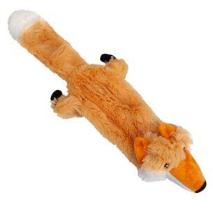 Assorted Tug & Squeak Plush Dog Toy