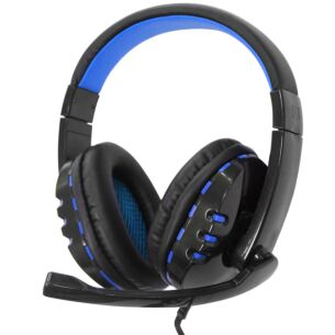 Pro Gaming Blue Headset