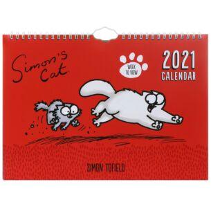 2021 A4 Family Wall Calendar