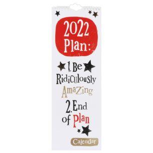 2022 Slim Calendar