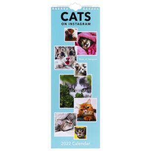 'Cats on Instagram' 2022 Slim Calendar