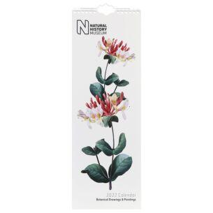 NHM Botanical Drawings 2022 Slim Calendar