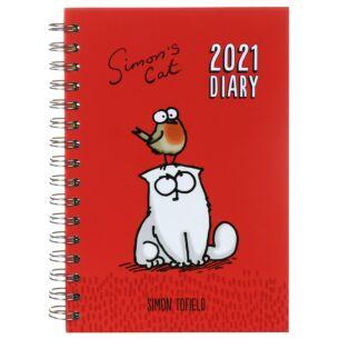 2021 A5 Desk Diary