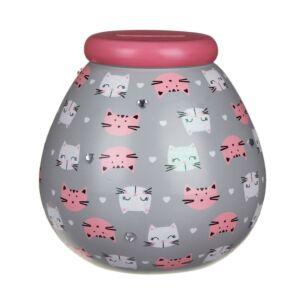 Cat Money Pot