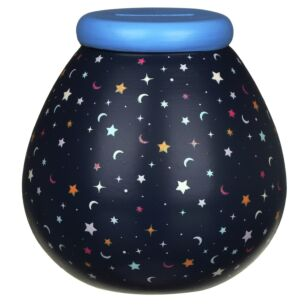 Moons & Stars Glow In The Dark Money Pot