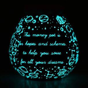 Space Glow In The Dark Money Pot