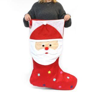 Jumbo Santa Stocking