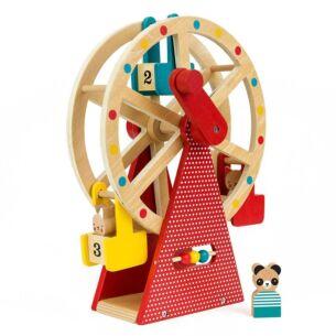 Carnival Play Set Wooden Ferris Wheel
