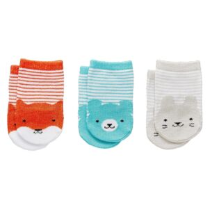 Petit Collage Little Friends Baby Socks – 1 Pair (Assorted designs)