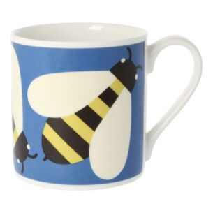 Busy Bee Blue Large Mug