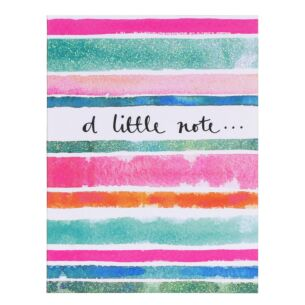 Set of 5 'Little Note' Notecards