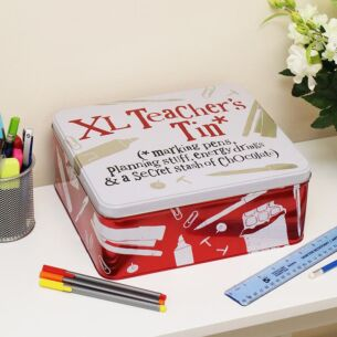 XL Teacher's Tin