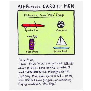 Edward Monkton All-Purpose Card For Men Card