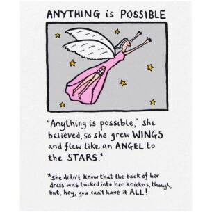 Edward Monkton Anything Is Possible Card