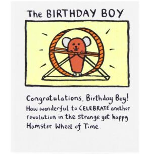 Edward Monkton The Birthday Boy Card