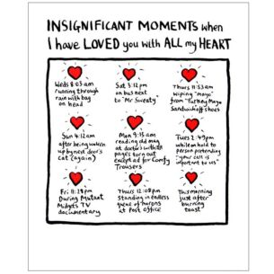 Insignificant Moments Valentine's Card