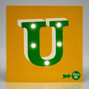 Really Good Showtime LED Greetings Card – U