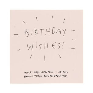 Good Things 'Birthday Wishes' Card