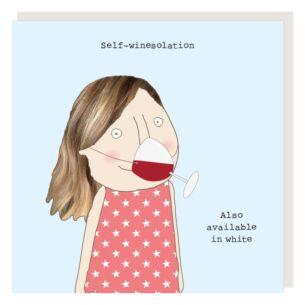'Wine-solation' Lockdown Card