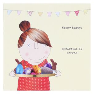 Rosie Made A Thing 'Easter Breakfast' Easter Card
