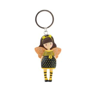 Gorjuss Bee-Loved Moulded Keyring