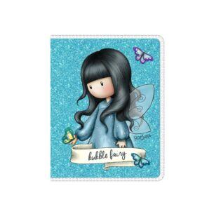 Gorjuss Bubble Fairy Mini Glitter Notebook