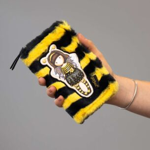 Gorjuss Bee-Loved Furry Wallet