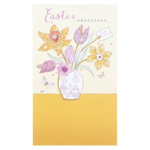 'Flowers In A Vase' Easter Money Wallet