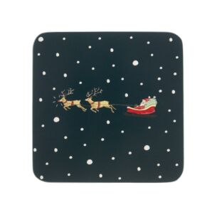 Sophie Allport Home for Christmas Set of 4 Coasters
