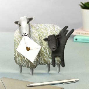 Wooljumpers Sheep 3D Greeting Card