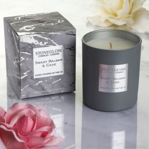 Stoneglow Luna Sweet Balsam & Cade Candle