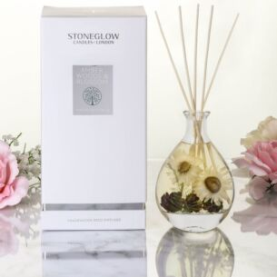 Amber Woods & Blossom Nature's Gift Reed Diffuser