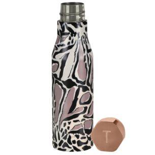 BOTIGA Giraffe Print Water Bottle