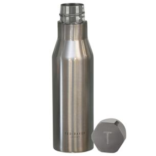 BOTMAN Shiny Silver Water Bottle